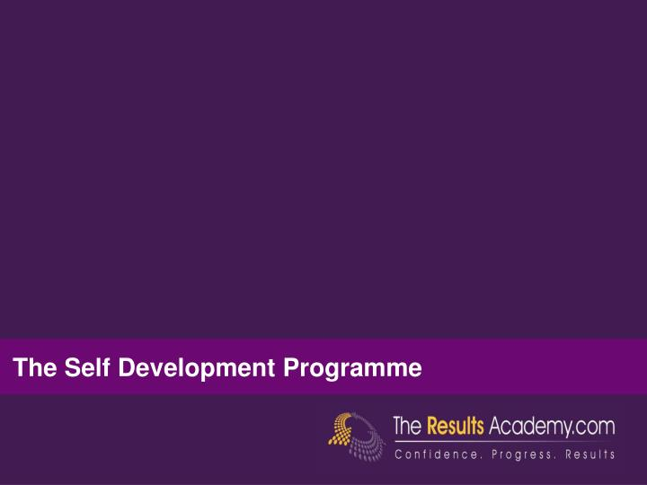 The Self Development Programme