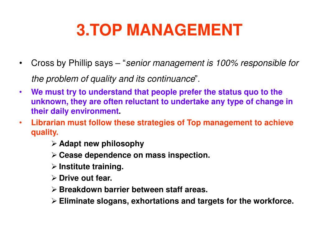 3.TOP MANAGEMENT