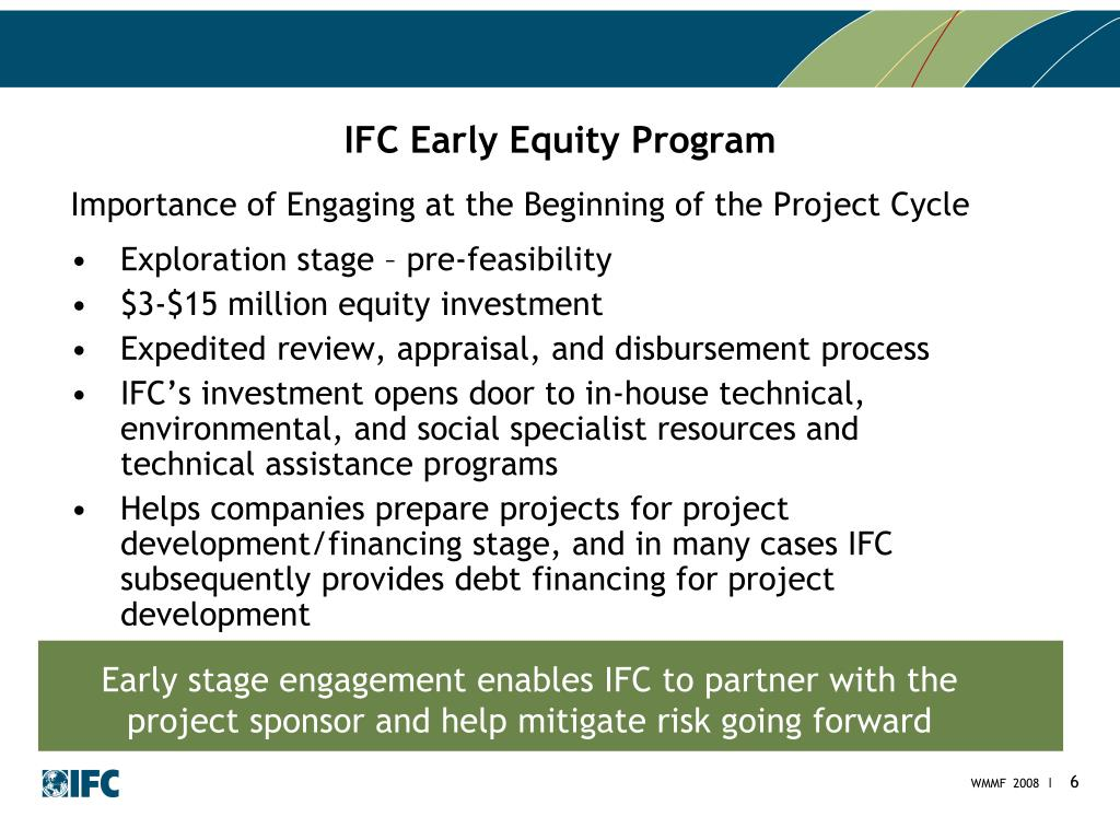 IFC Early Equity Program