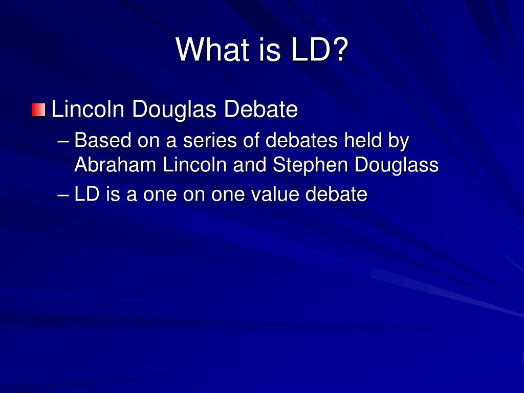 What is LD?