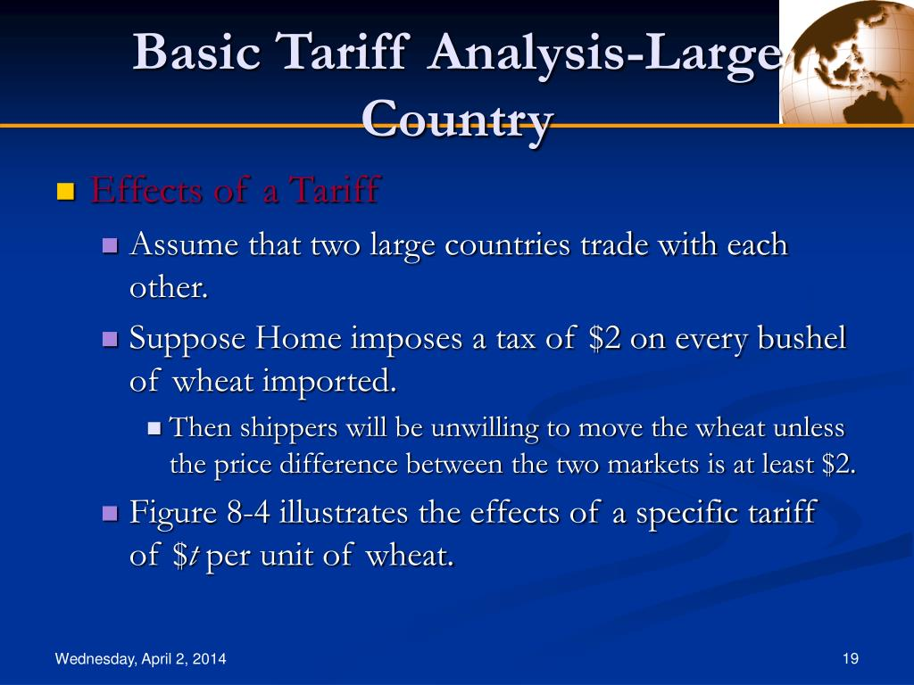 disadvantages of specific tariff In 2 or 3 sentences, give two disadvantages of a tariff and high tariffs may lead to trade unanticipated inflation and unemployment what specific steps can.