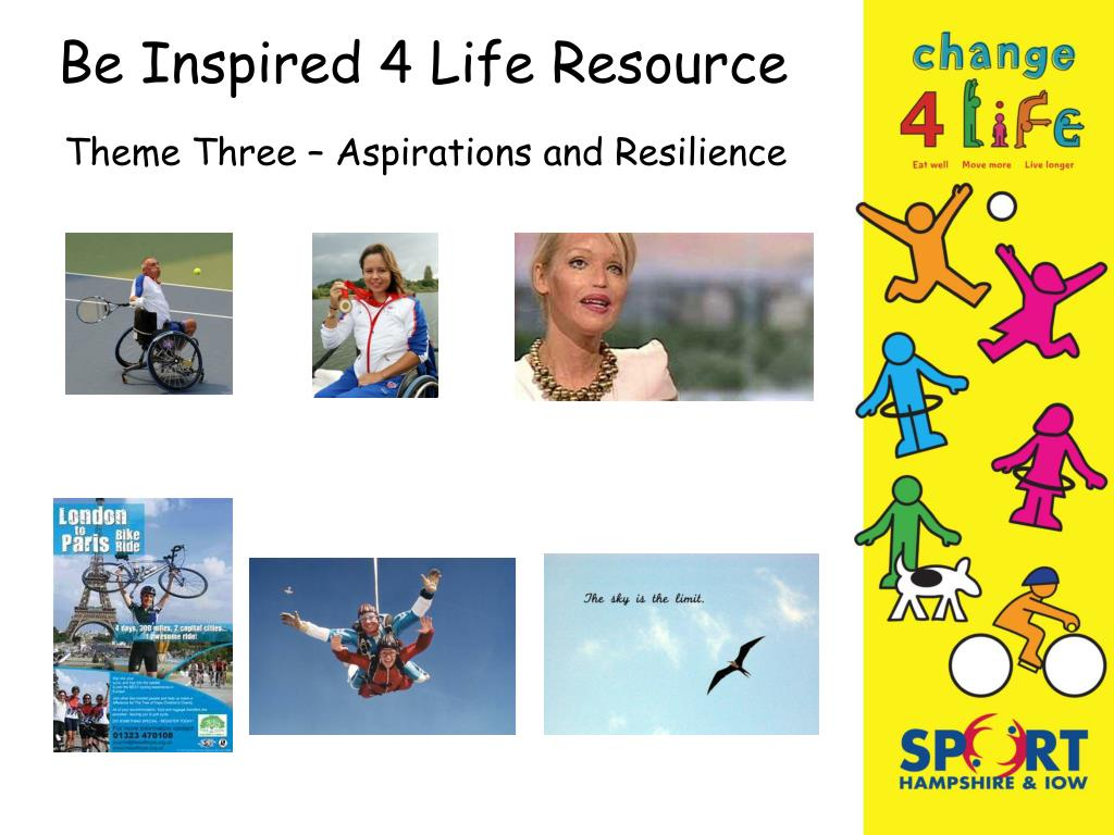 Be Inspired 4 Life Resource