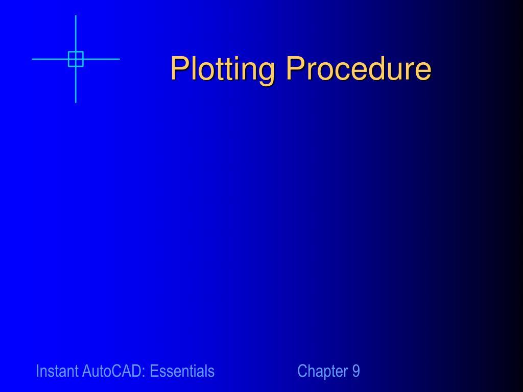 Plotting Procedure