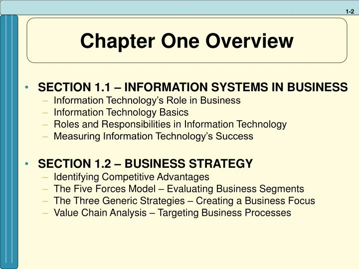 Chapter one overview l.jpg