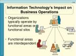 information technology s impact on business operations10