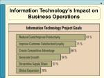 information technology s impact on business operations8