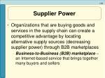 supplier power41
