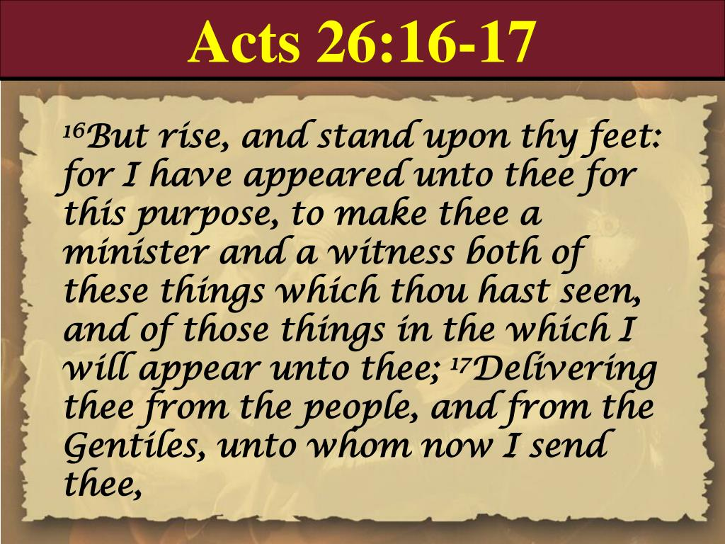 Acts 26:16-17