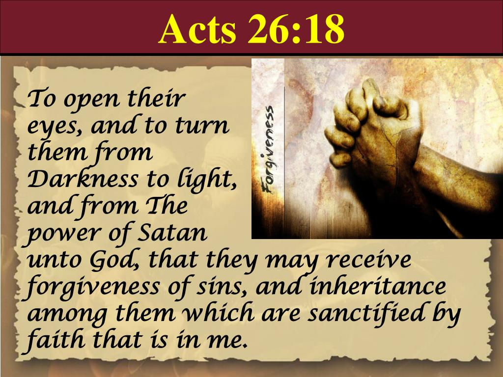 Acts 26:18