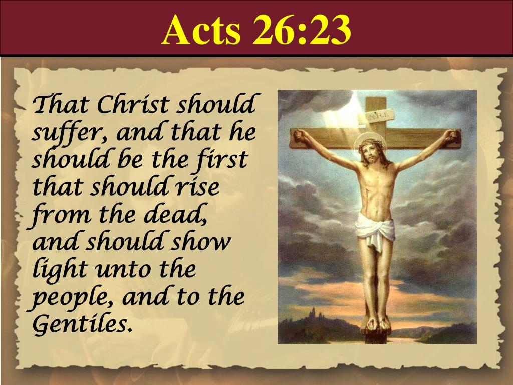Acts 26:23