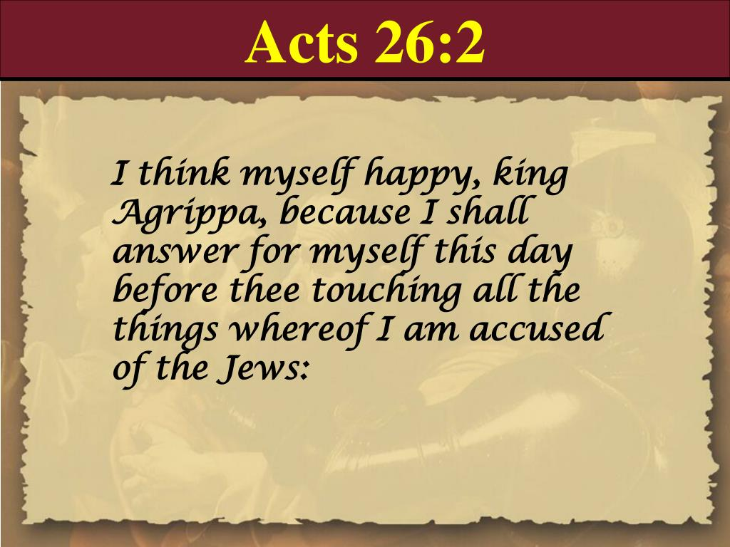 Acts 26:2