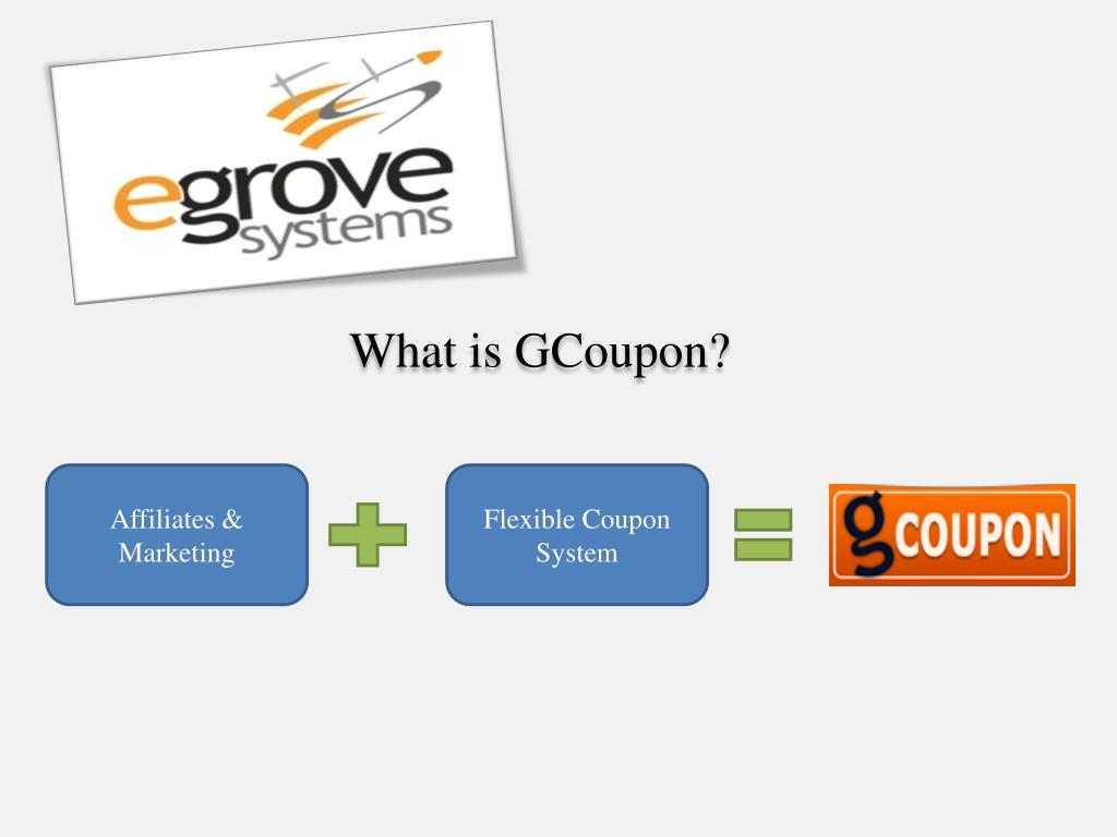 what is gcoupon