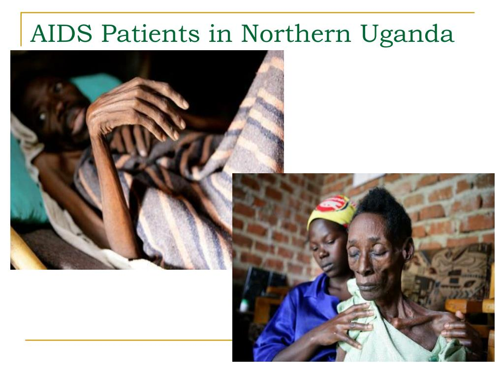 AIDS Patients in Northern Uganda