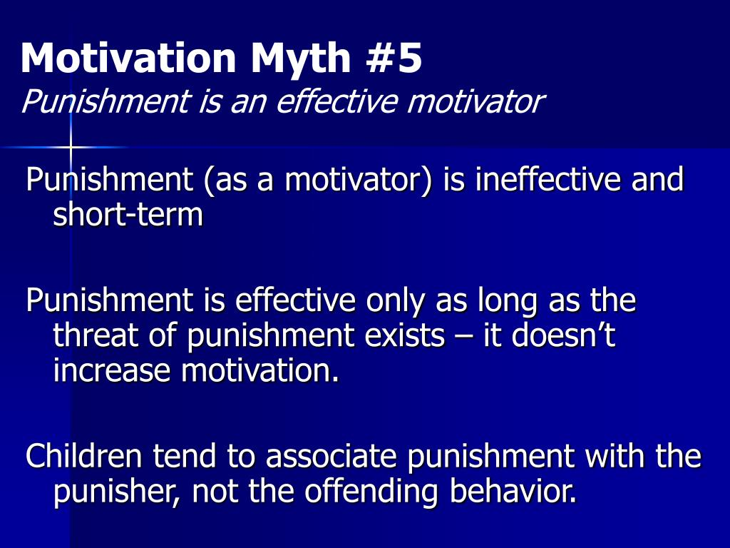 Motivation Myth #5