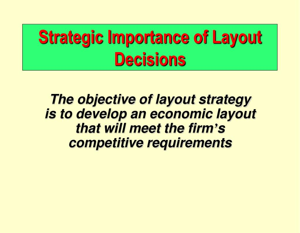the importance of layout A good website starts life in the design stage there are several aspects of the site that are formed at this stage, including among other things, layout, color, sound, content, functionality and maintainability no reasonable person would start to build a house without designing it first, no.