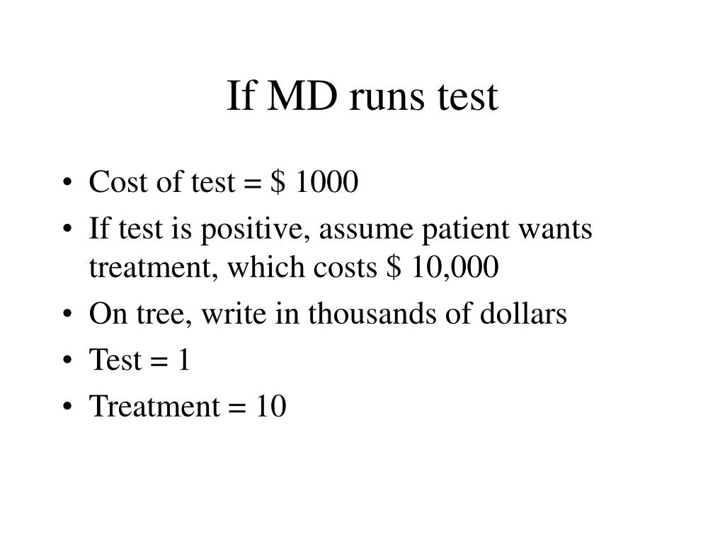 If MD runs test