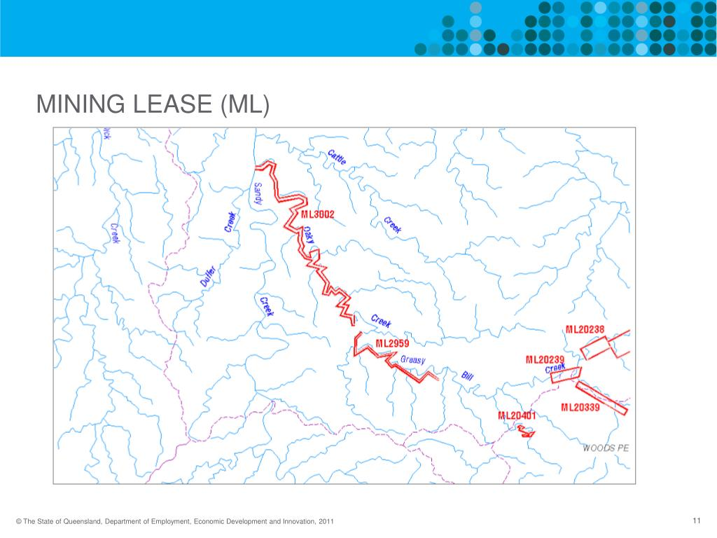 MINING LEASE (ML)