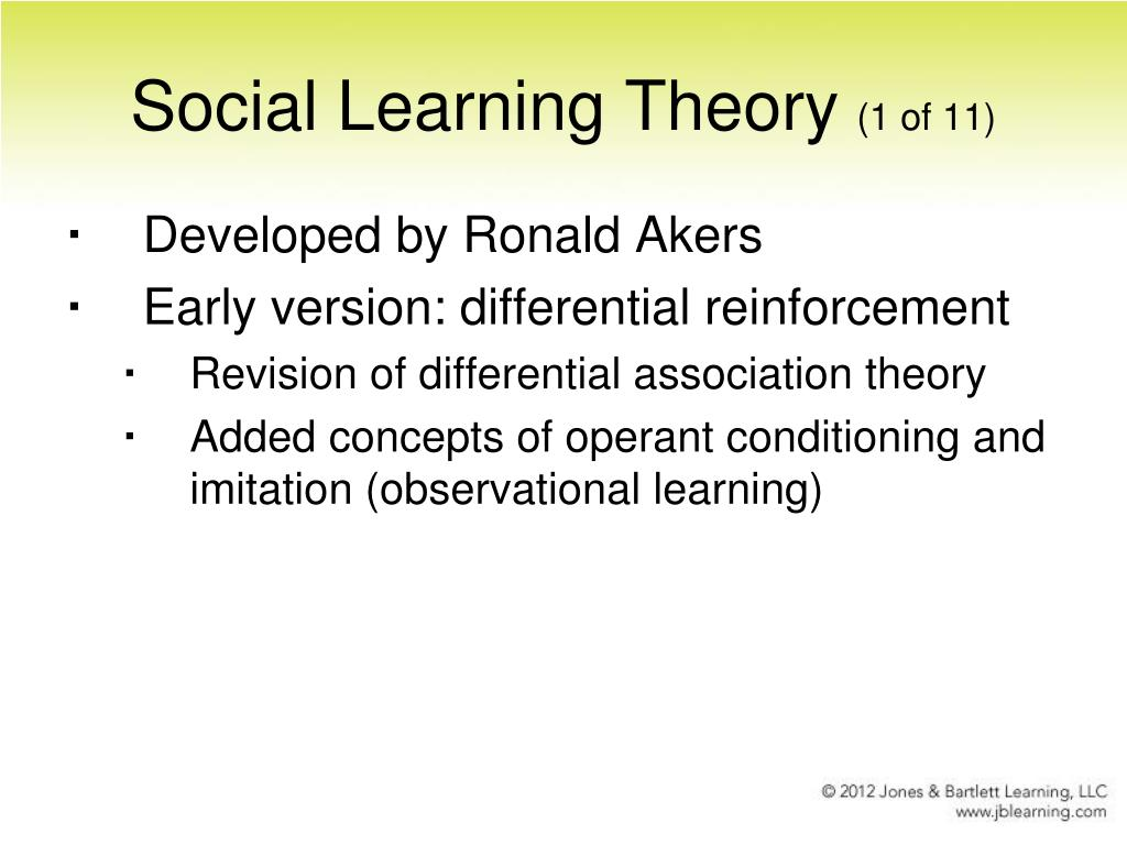 social learning theory 3 essay