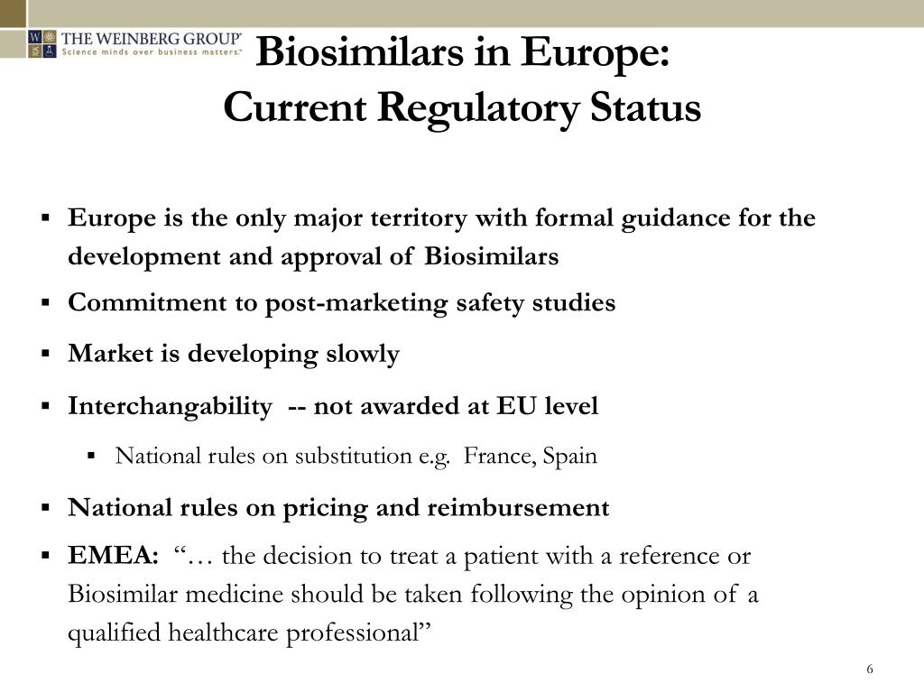 Biosimilars in Europe: