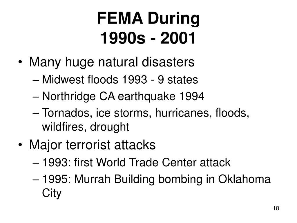 FEMA During