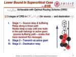 lower bound in supercritical case ii vii