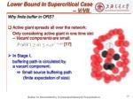 lower bound in supercritical case v vii