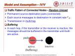 model and assumption iv v
