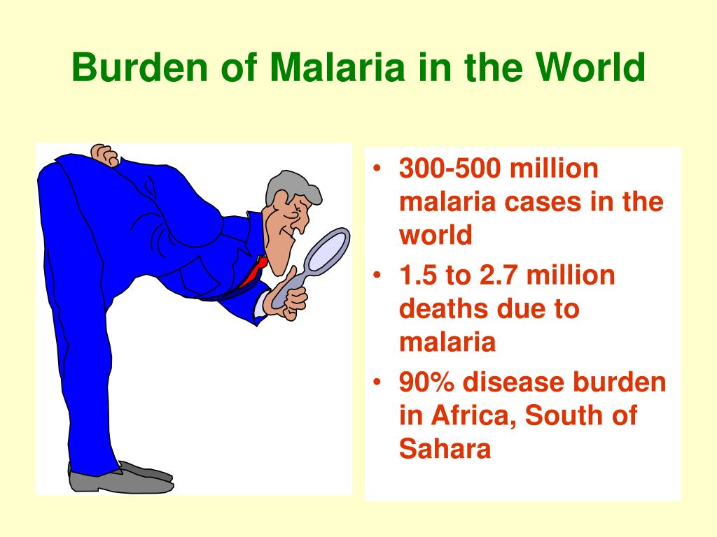 Burden of Malaria in the World