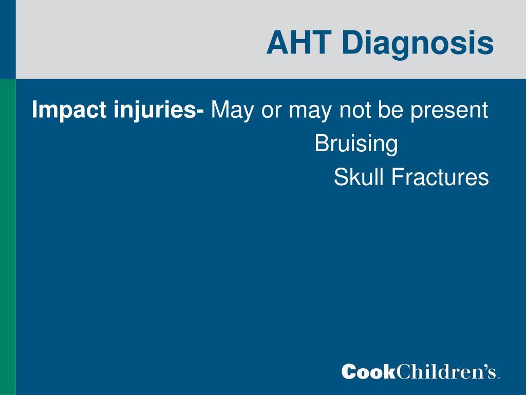 AHT Diagnosis