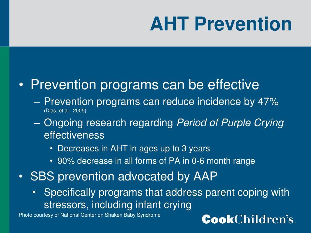 AHT Prevention