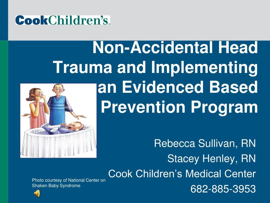 Non-Accidental Head Trauma and