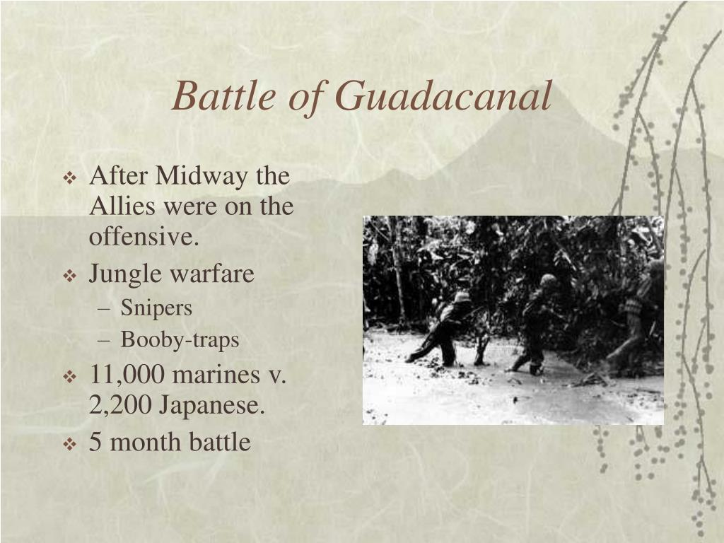 Battle of Guadacanal