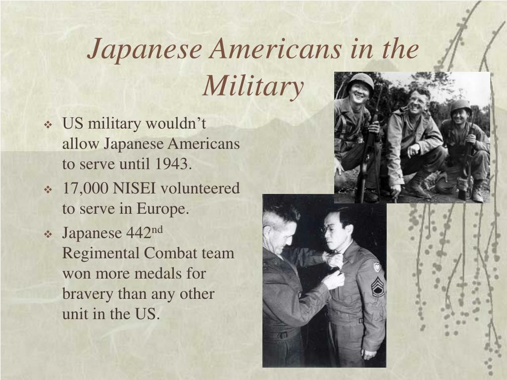 Japanese Americans in the Military