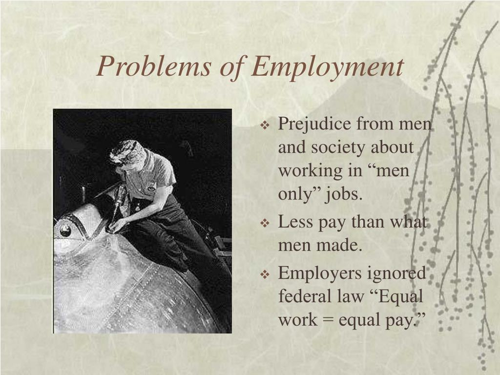 Problems of Employment