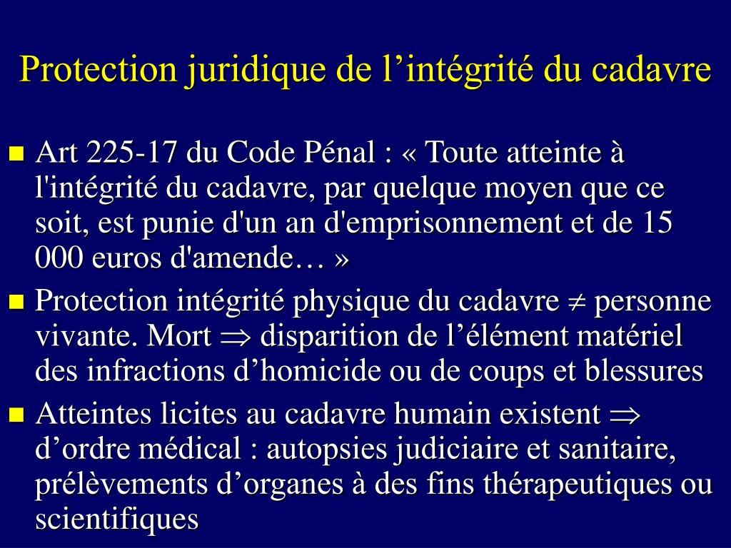 Ppt la mort powerpoint presentation id 689001 - Coups et blessures volontaires code penal ...