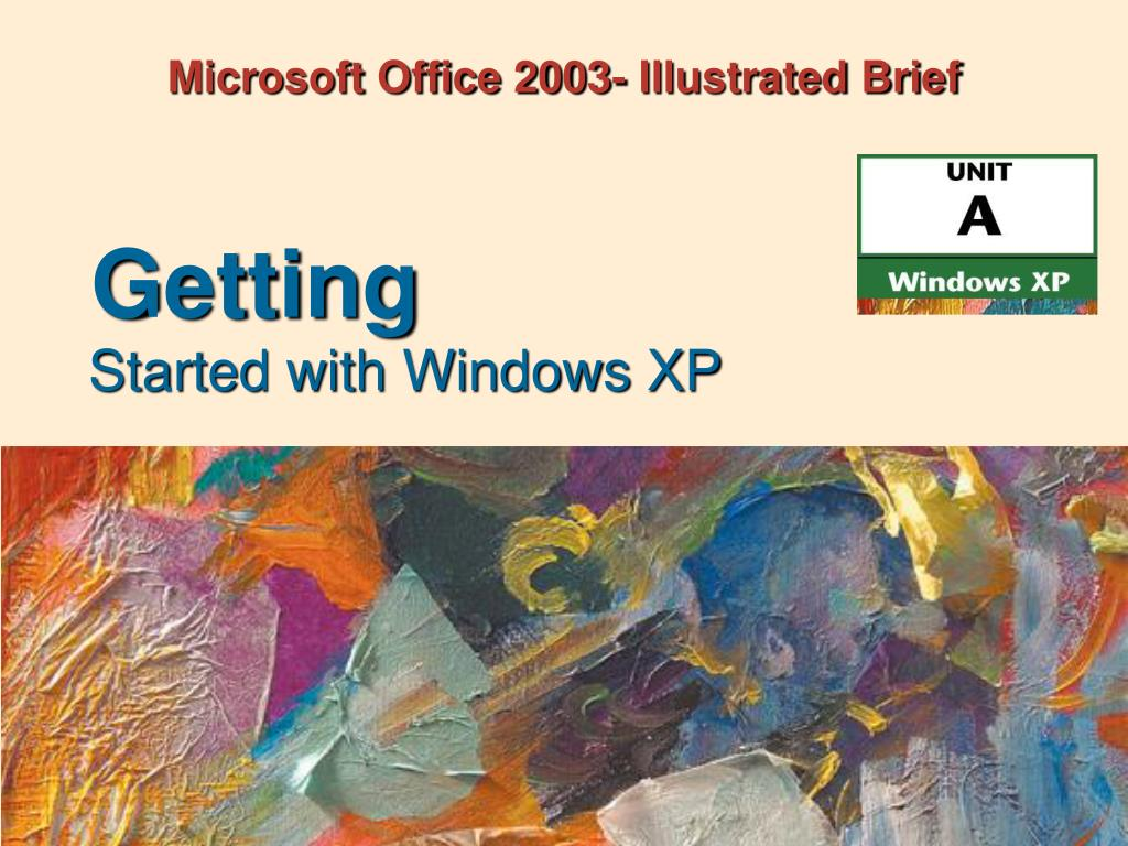 Microsoft Office 2003- Illustrated Brief
