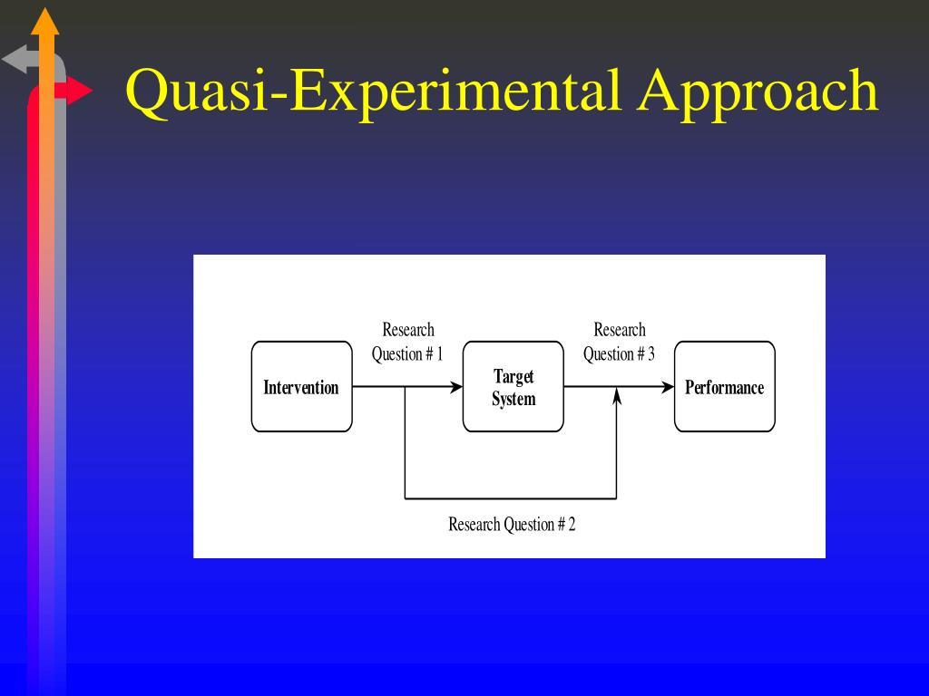 Quasi-Experimental Approach