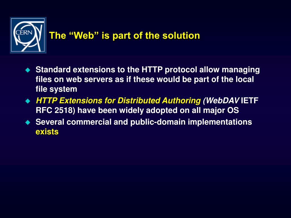 "The ""Web"" is part of the solution"