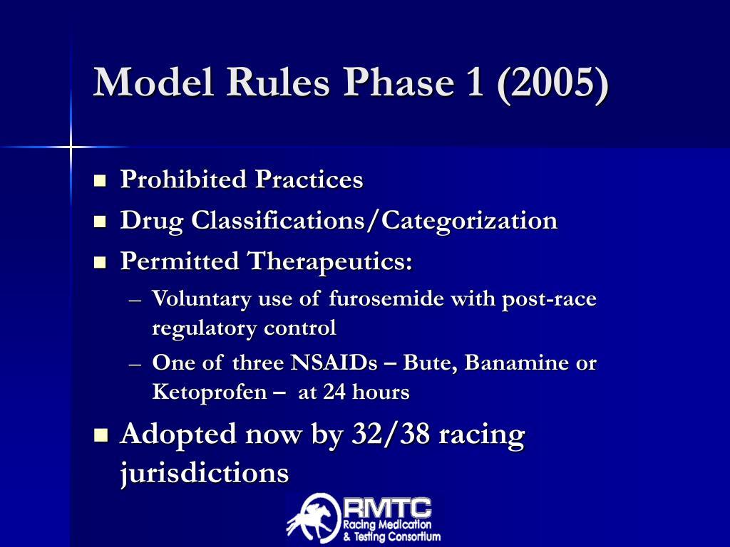 Model Rules Phase 1 (2005)