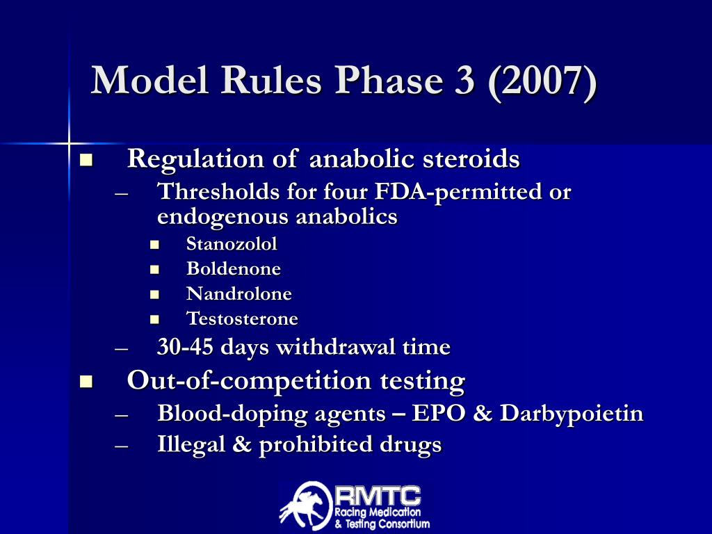 Model Rules Phase 3 (2007)