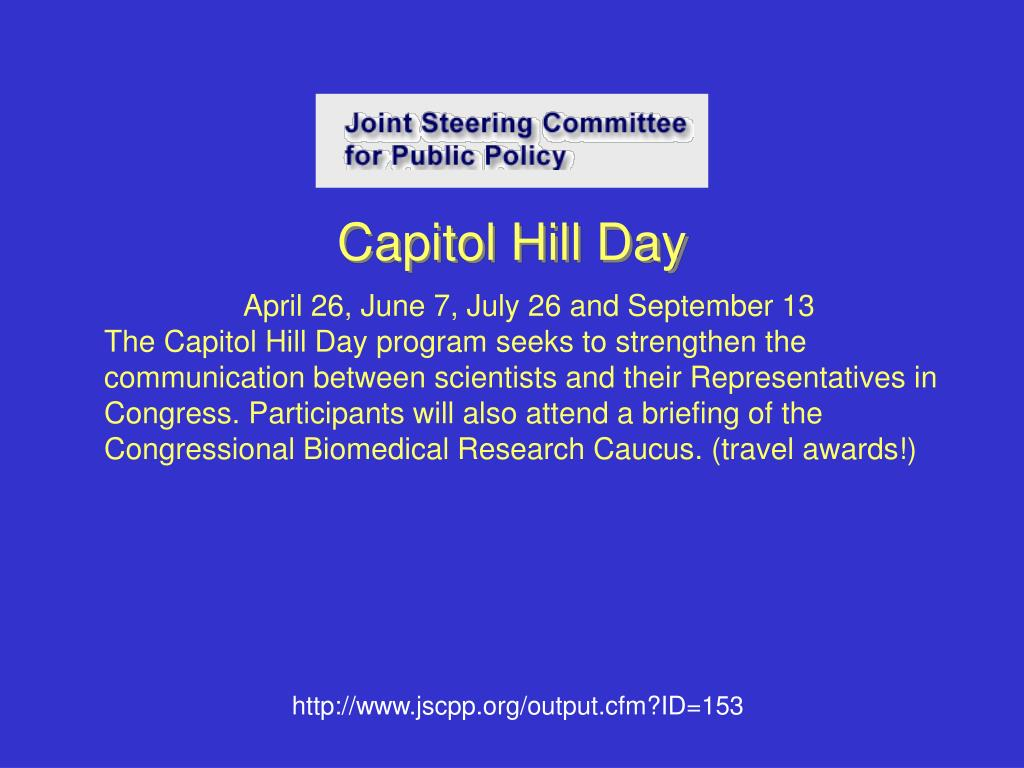 Capitol Hill Day