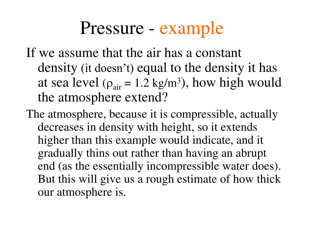 Pressure -