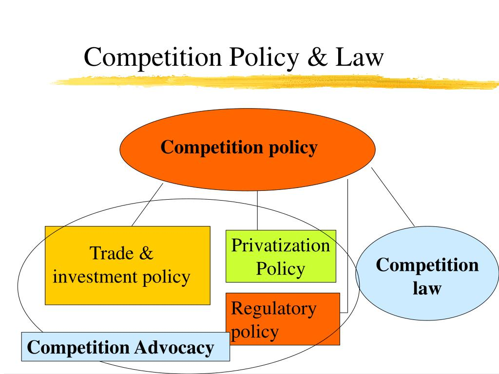 Competition Policy & Law
