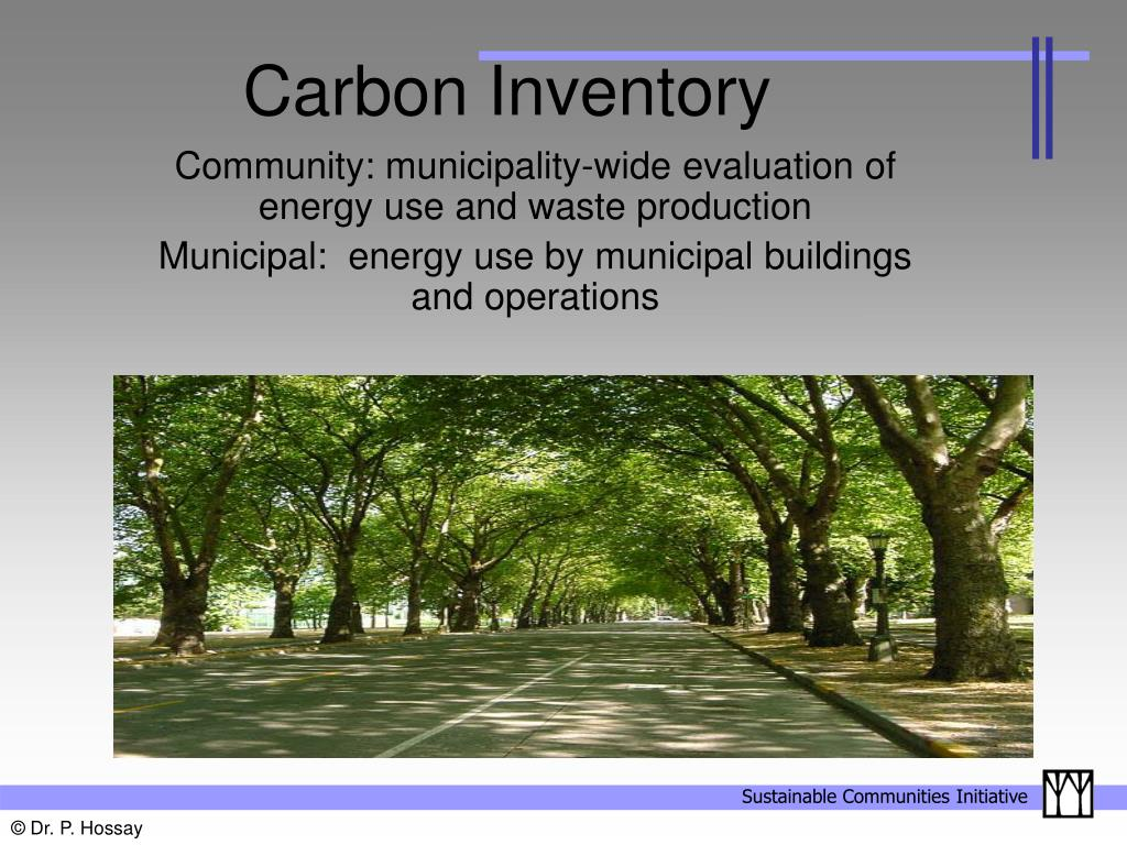 Carbon Inventory