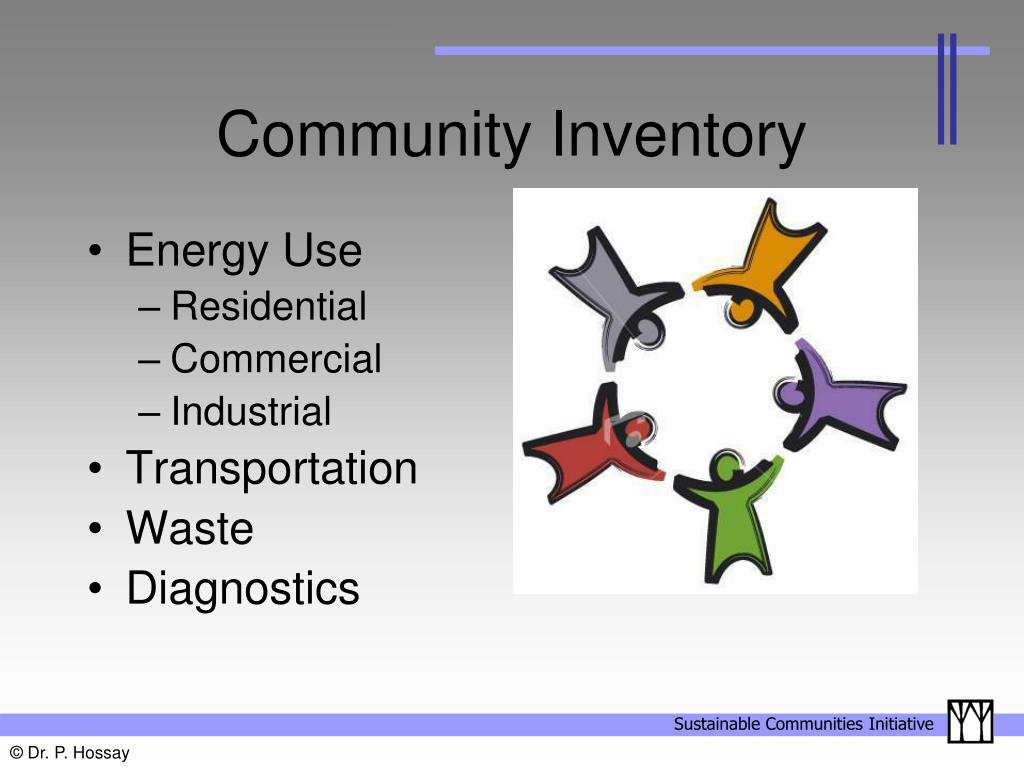 Community Inventory