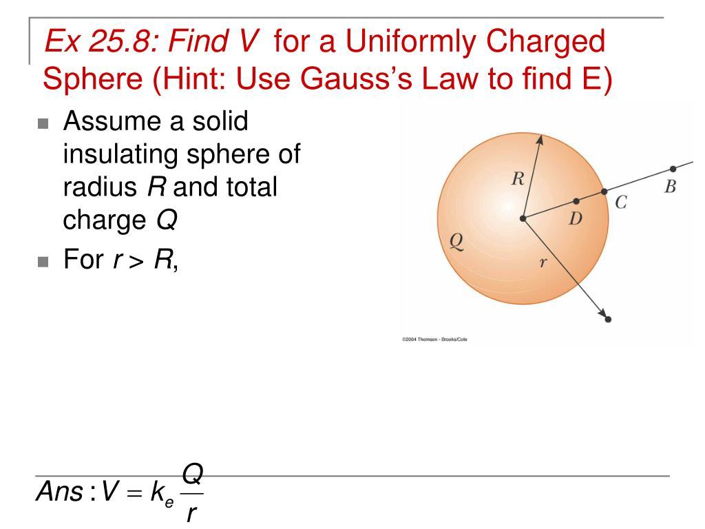 Ex 25.8: Find V
