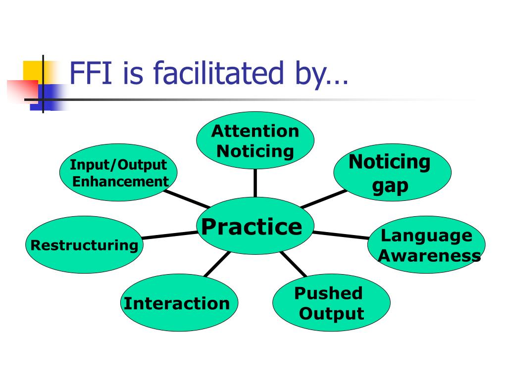 FFI is facilitated by…