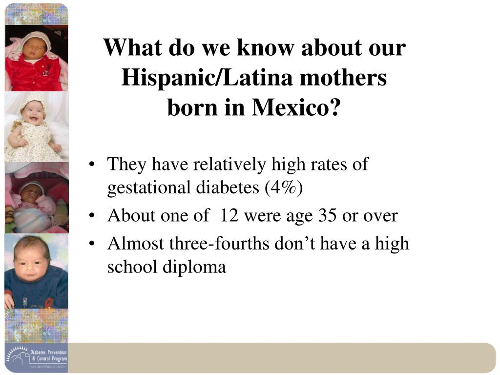 What do we know about our Hispanic/Latina mothers