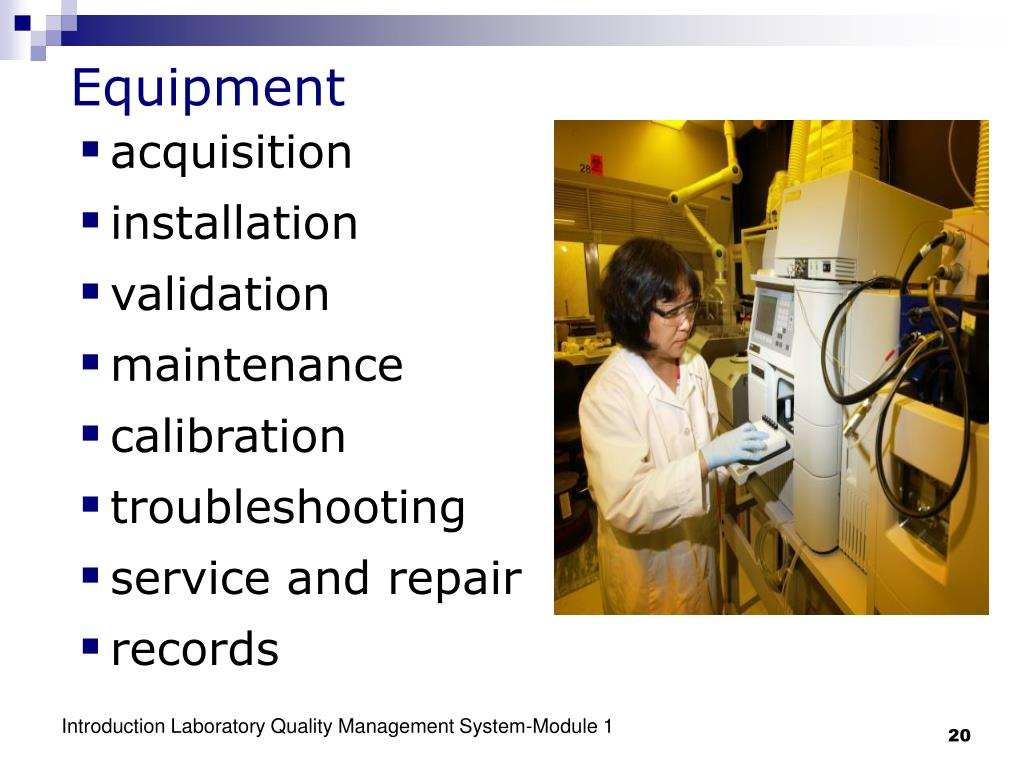 Ppt Introduction Laboratory Quality Management System