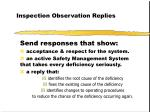 inspection observation replies17